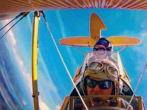 Tiger Moth pilot Ryan Campbell was in epic world flight