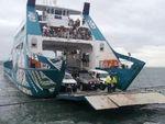 200 stranded after Stradbroke barge runs aground