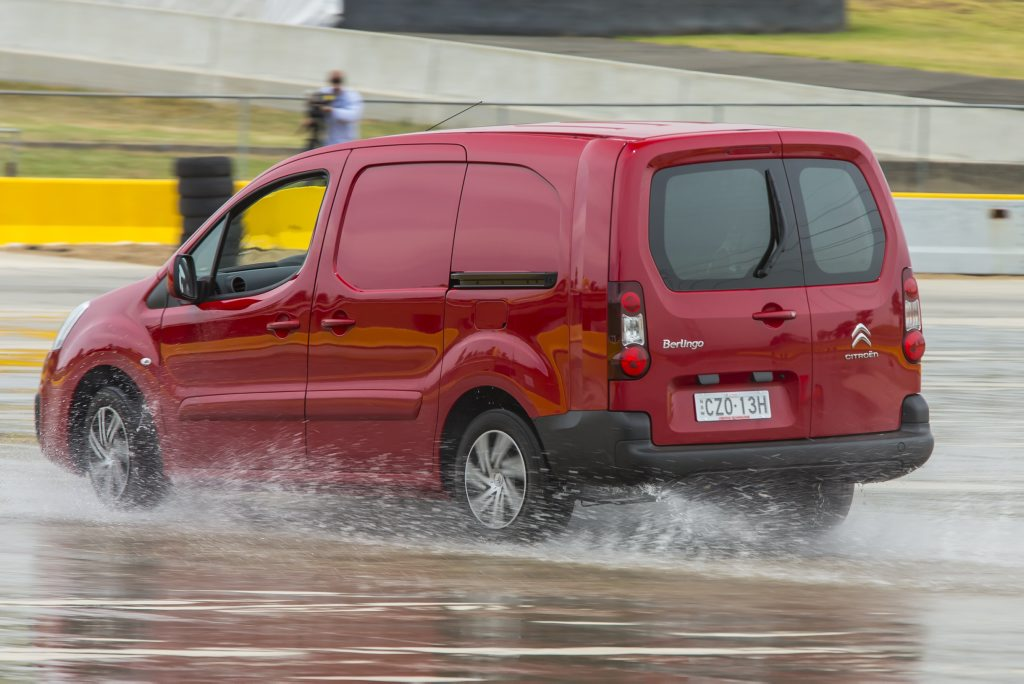 REFRESHED: Citroen says updates to the Berlingo mean segment-leading safety, infotainment and practicality. Stability and traction control, sliding doors both sides, Apple CarPlay/Android MirrorLink and reverse camera are all standard inclusions for the new van.