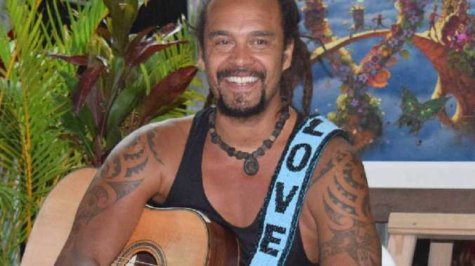 American singer and social justice campaigner Michael Franti.