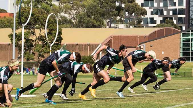The USC's quidditch team made its presence felt at the recent national titles, winning two games and taking the tournament result right down to the wire.