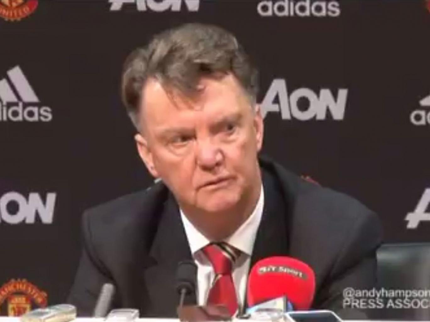 Louis van Gaal has not seen his team beat Swansea in three meetings.