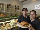 BANH MI: Serving up authentic Vietnamese food are O Banh Mi owners/managers Hoa Chiem (left) and Tram Hoang.