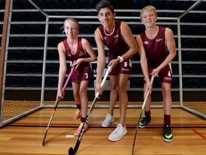 Indoor hockey players from Rocky continue to represent Qld