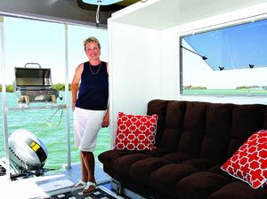 Hello trailer sailor: Here's a boat for your travels