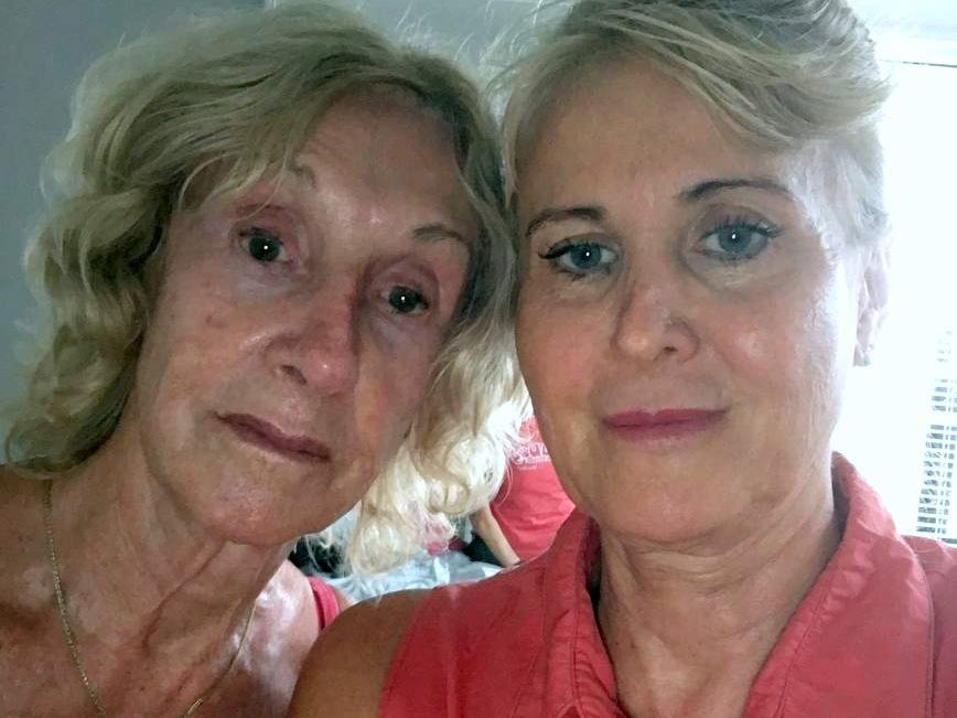 Janeen Ostrowski and Dorothy Dehaan are devasted by the theft of their car by prison farm escapees.