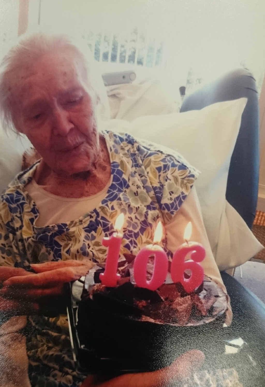 Lillian celebrates her 106th birthday