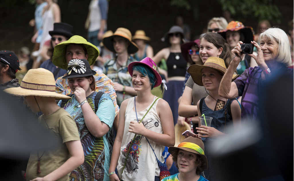 BUMPER CROWD: Young and old flocked to Woodford Folk Festival this week. The event wrapped up last night and organisers have predicted record crowds.