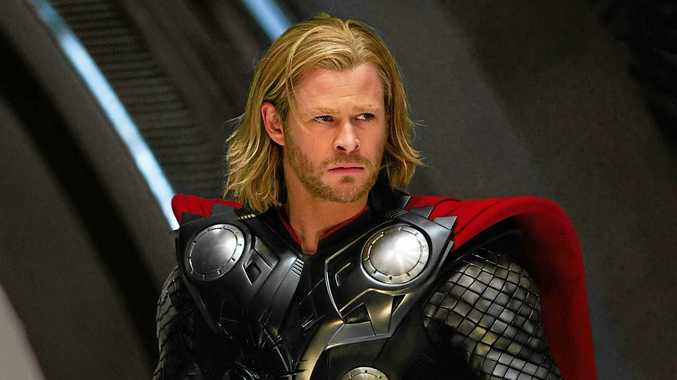 Chris Hemsworth, better dressed as Thor, has been spotted shopping in Byron Bay without any shoes.