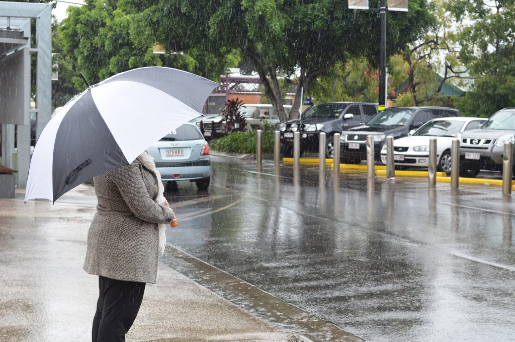 Emerald is sitting on the cusp of widespread heavy rain expected across central Queensland