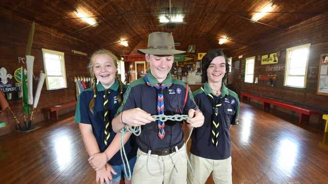 Jamboree Scout representatives Amber Clarke, 12, Torin Veronesi, 13, and Jasper Fox, 13, are excited to represent the local region in an event that is sure to be fun.