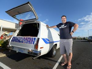 Sandman sets tongues wagging at CQ classic car rally