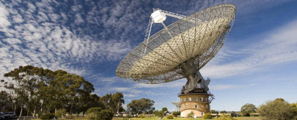 Parkes Radio Telescope was part of a search for alien life.