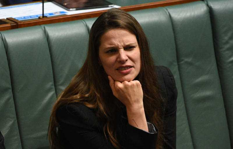 Federal Shadow Minister for Education Kate Ellis during House of Representatives Question Time at Parliament House in Canberra on Tuesday, Nov. 10, 2015.