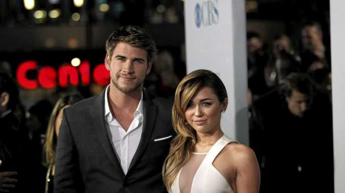 Miley Cyrus, left, and Liam Hemsworth were seen at Falls Festival 2015 together. File Image (AP Photo/Matt Sayles)(AP Photo/Matt Sayles)