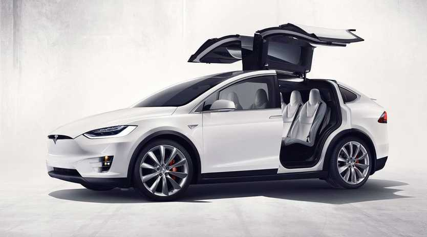 COMING IN 2016: Tesla's all-electric seven-seat SUV called Model X will be one of this year's most compelling offerings.