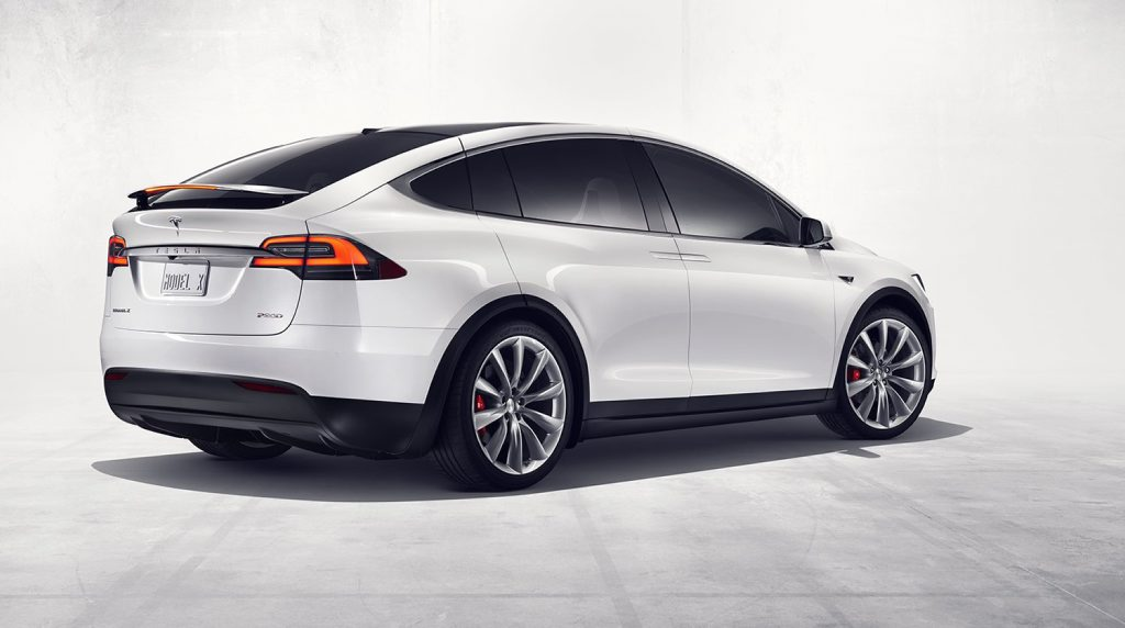 2016 Tesla Model X. Photo: Contributed
