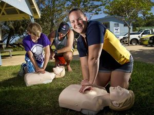 CPR training for lifesavers to start the new year