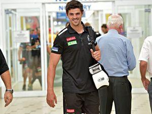 Collingwood FC arrives on the Sunshine Coast