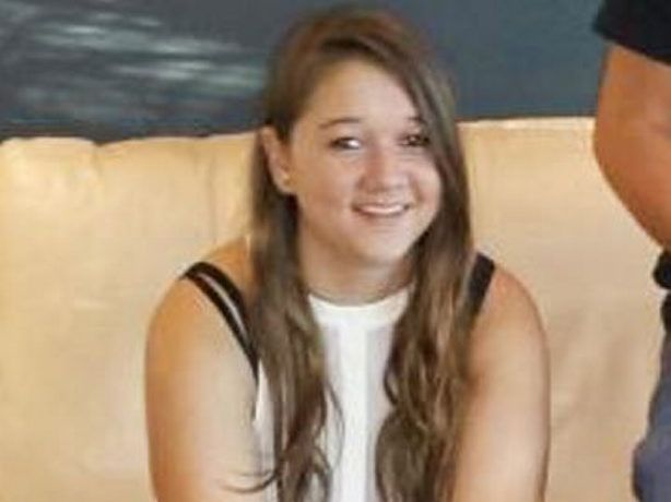 16 year old Brianna Creenaune is in an induced coma with burns to 60% of her body. Photo: Contributed