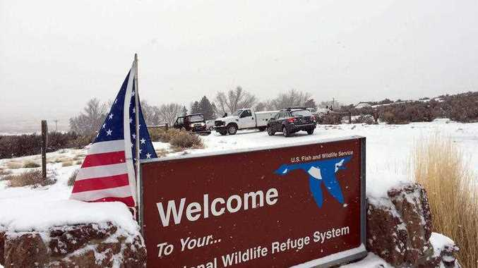 Armed protesters are occupying a building at the national wildlife refuge and asking militia members around the country to join them. The protesters went to Malheur National Wildlife Refuge on Saturday following a peaceful rally in support of two Oregon ranchers facing additional prison time for arson.