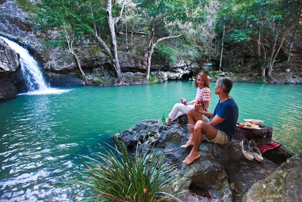 KONDALILLA MAGIC: The cascading Kondalilla Falls.
