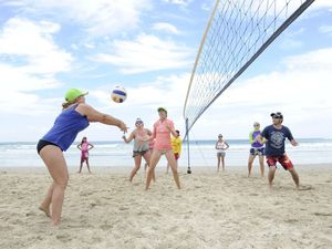 Crew take out volleyball title