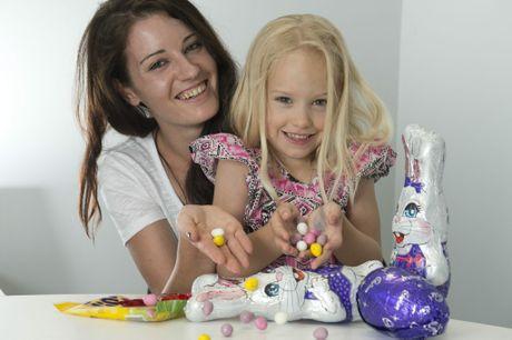 Larissa Auld with daughter Allira Tooth.