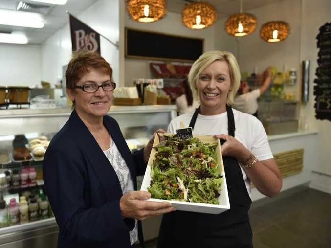 Lynn McLean (left) and Jodi Cottier are happy to offer Toowoomba residents something different.