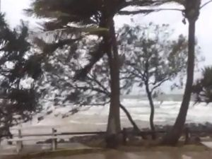 Wild weather in Bargara