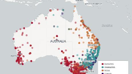 Words for swimwear around Australia Rosey Billington, Lauren Gawne, Kathleen Jepson, and Jill Vaughan 'Mapping words around Australia' (bit.ly/AusWordsMaps)