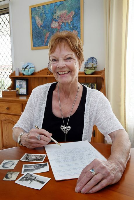 Marjo De Waard writes a letter to her 15-year-old self. Photo: Hayden Johnson / Fraser Coast Chronicle