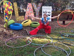 Hoops of fun at kids' workshops