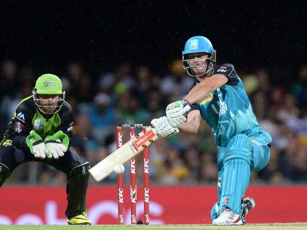 Chris Lynn has been in superb form in the Big Bash League.