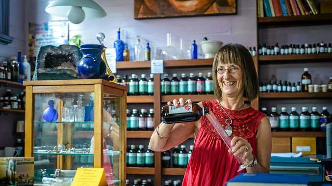Diana Roberts is one of the Nimbin personalities featured in the Faces of Nimbin campaign.  Photo Contributed