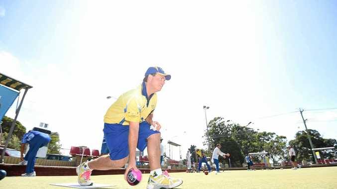 South Lismore bowler Jamie Eichorn was eliminated in the quarter-finals of the Summerland Series singles tournament at Ballina.