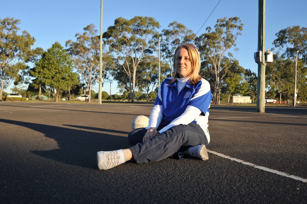 ROAD TO RECOVERY: Bundaberg Netball Association secretary Shelley Naumann will be attending a meeting with Sport and Recreation Infrastructure program next week to discuss funding opportunities. Photo: Max Fleet/NewsMail
