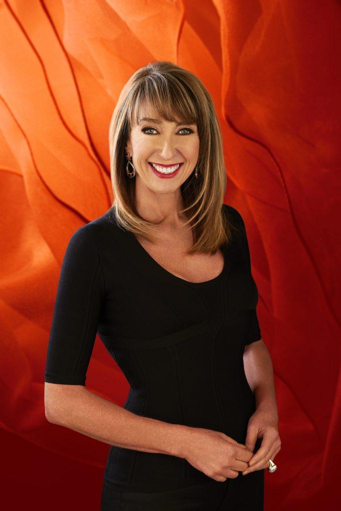 Maeve O'Meara hosts the TV series Food Safari Fire.