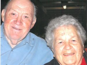 Love still in the air 60 years on for Lloyd and Mary