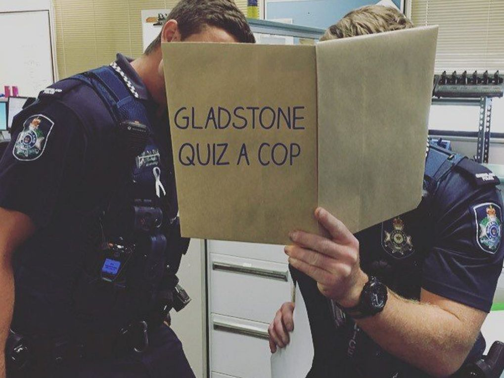 Gladstone police will answer your questions about what you cannot do.