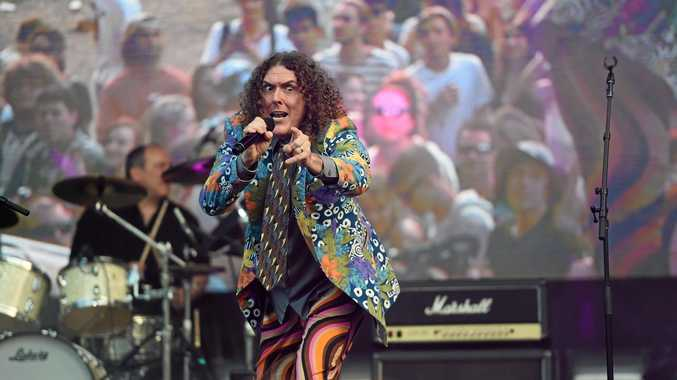 'Wierd Al' Yankovic at Falls Festival 2016 in Byron Bay at the Byron Bay Parklands. Photo Marc Stapelberg / The Northern Star