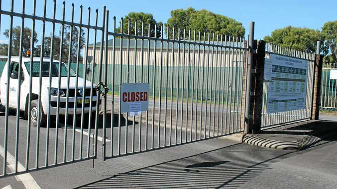 SHUT: The Ballina Waste Management Centre was closed for a time this afternoon (Thursday, jan 7) due to a fire inside the centre.Photo Graham Broadhead / Ballina Shire Advocate