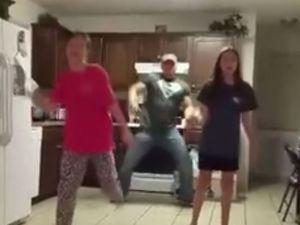 Dance bomb Dad