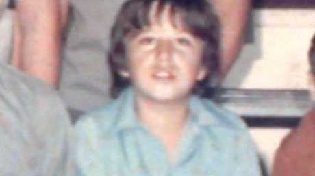 Gordon Myers as a young boy.
