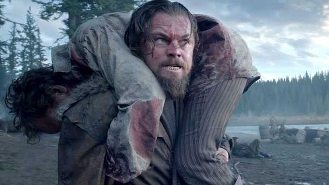 Leonardo DiCaprio in a scene from the movie The Revenant.