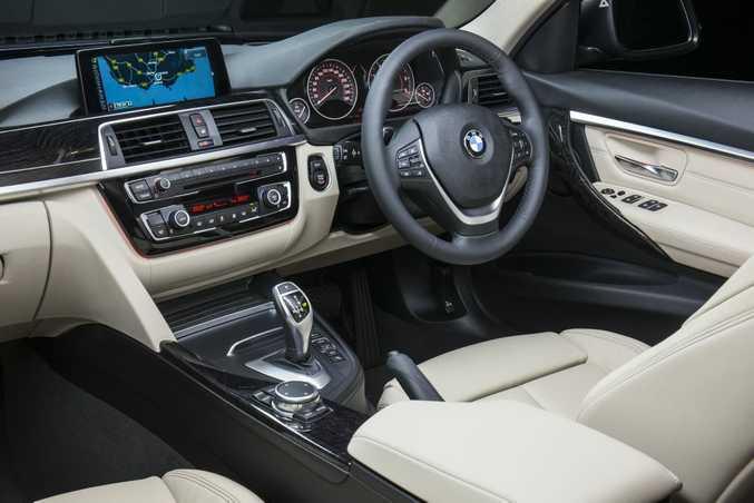 BMW 320d Sedan. Photo: Mark Bean