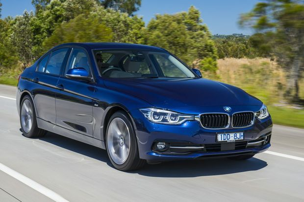 NEW SEDAN: The 320d may be the sensible selection in the new 3 Series Sedan range, but against the turbo petrols on offer, the diesel is a brilliant all-rounder