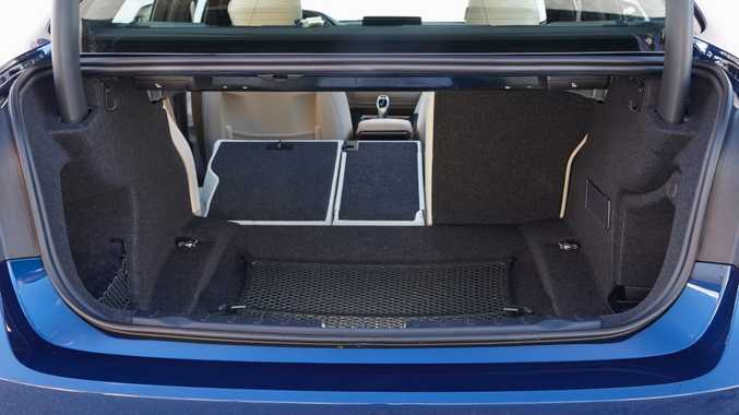 DECENT SIZE: Boot offers 480-litres of space.