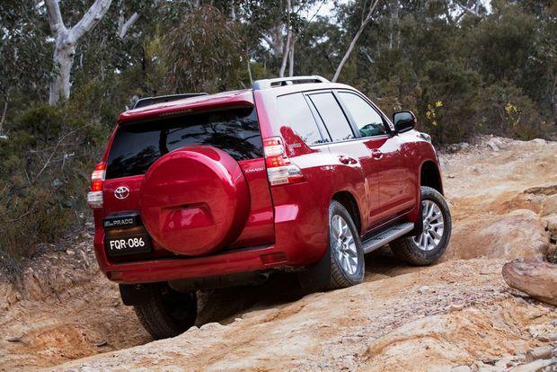 2015 Toyota LandCruiser Prado Kakadu. Photo: Contributed.