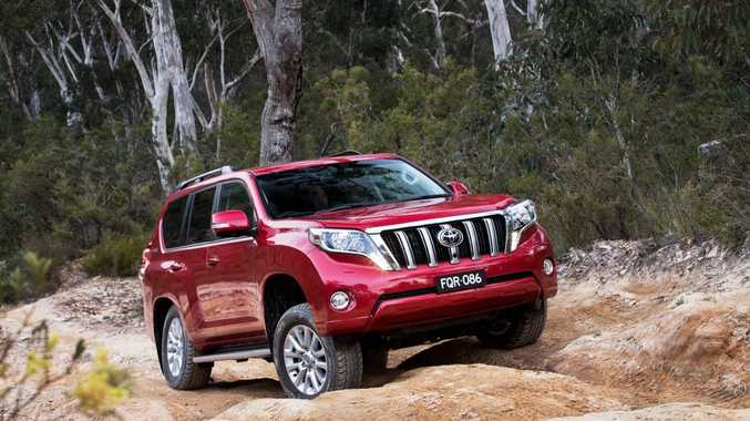 RANGE TOPPER: New Prado at its luxurious best in Kakadu guise, priced from $84,490.